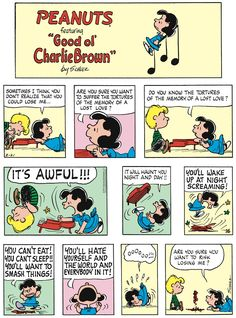 Peanuts By Schulz, Lost Love, Good Ol, Losing Me, Comic Strips, 21st, Snoopy, Comics, Charlie Brown