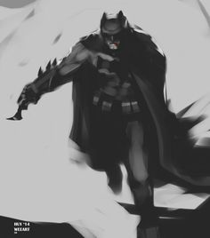 "Batman v Superman: Batman by Huy ""Wee,"" Dinh"