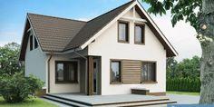 www.proiectari.md Proiect de casa cu mansarda 227Proiecte de Case | Proiecte de…