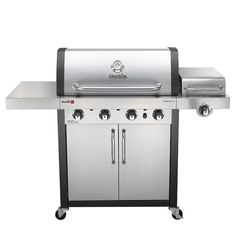 Shop Charbroil 466242715 TRU-Infrared™ Commercial 4-Burner (32,000 BTU) Liquid Propane Gas Grill with Side Burner (466242715) at Lowe's Canada. Find our selection of gas bbq & grills at the lowest price guaranteed with price match + 10% off.