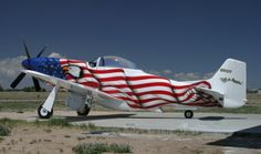 American-flag-plane