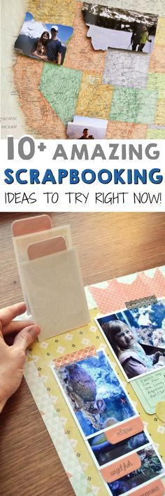 Love these scrapbooking ideas!