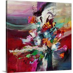 Winged Spirits Canvas Print