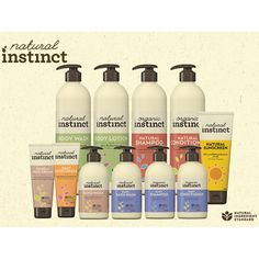 Win one of three Natural Instinct care packs, worth more than $150 each. Natural Sunscreen, Natural Shampoo, Care Pack, Natural Instinct, Body Wash, Body Lotion, Competition, Conditioner, Personal Care