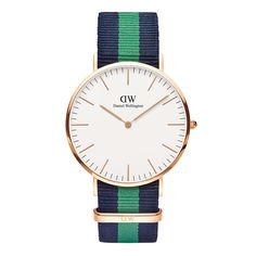 The Classic Warwick (40mm) in Rose Gold by Daniel Wellington