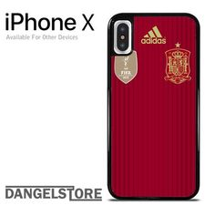 spain soccer jersey For iPhone X