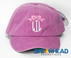 Pink Lil Hat Sorority Big & Little Big Lil by SpearheadPromotions