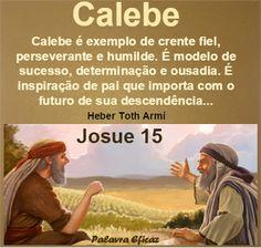 Palavra e Ação : Calebe– Josué 15
