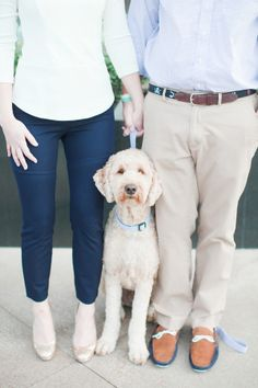 Preppy Couple With Dog | photography by http://jordanbrittley.com