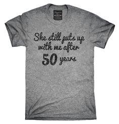 Funny 50th Anniversary Shirt, Hoodies, Tanktops