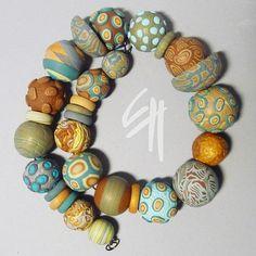 Necklace by E.H.design, via Flickr