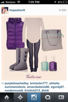 Love the new #fall2013 colors! #fun @Amanda Snelson Zurwell #purple #teal #thebestisyettocome