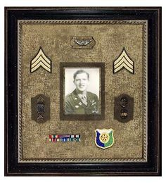 shadow box for dad's military service