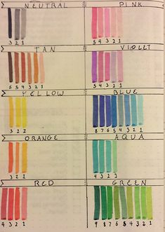 Crayola Supertips Swatches on Leuchtturm Paper : bulletjournal Bullet Journal Markers, Bullet Journal 2019, Bullet Journal School, Bullet Journal Inspo, Bullet Journal Ideas Pages, Note Doodles, Bujo Doodles, Swatch, Crayola Supertips