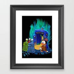 The Doctor who Tales Framed Art Print #artprint #artdesign #frameart…