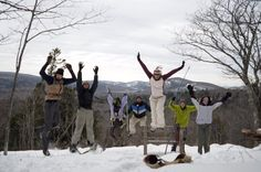 The Porcupine Mountains: Your source for winter fun! (Photo: Jennifer Karpinsky) http://porcupinemountains.com/itineraries/four-reasons-why-wintertime-is-wonderful-in-the-porcupine-mountains/