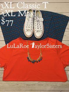 LuLaRoe Maxi and LuLaRoe Classic T! Vacation, Spring Women's Style, Fashion, Women's Fashion #Lularoe #womensfashion #womensclothes #lubbocktx https://www.facebook.com/groups/lularoetaylorsisters/
