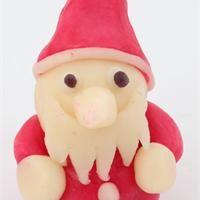 Père Noël en pâte d'amande Recette cuisine créative