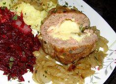 W Mojej Kuchni Lubię.. : ser i oliwki w mielonym schowane...