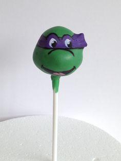 Ninja Turtle cake pop