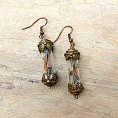 Tutorial: Steampunk Vial Earrings
