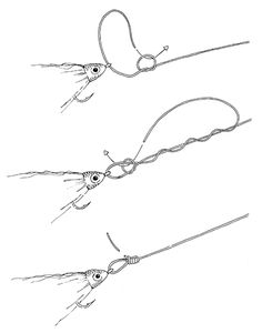TYING THE NO-SLIP MONO LOOP KNOT