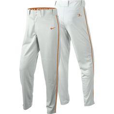 Nike Men's Swingman Dri-FIT Piped Baseball Pants, Size: Small, White
