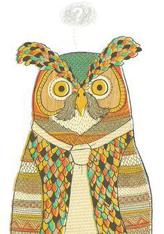 Mr Owl by Owen Davey