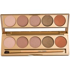 Jane Iredale Perfectly Nude Eye Shadow Kit 1 Ea ($54) ❤ liked on Polyvore