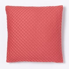 Pleated Diamonds Cushion Cover - Orchid $34