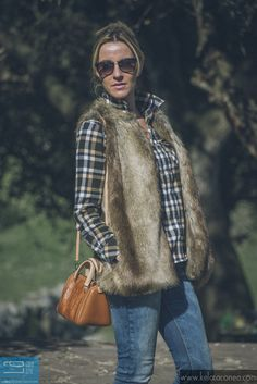Chaleco de pelo - Fur vest ~ Kela Taconea | Blog de moda en Santander | Cantabria #kissmylook