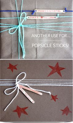 Fun way to use popsicle sticks