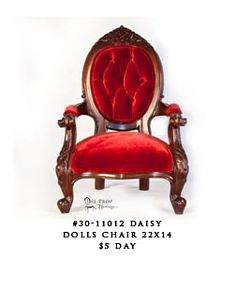 Daisy is the perfect doll chair! Porch Chairs, Living Room Chairs, Cheap Office Chairs, Herman Miller Aeron Chair, Chairs For Rent, Armchair, Daisy, Doll, Furniture