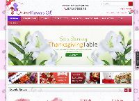 Online Flowers Gift's website