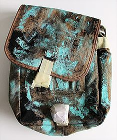 Stenciled Canvas Purse by Judi Kauffman with StencilGirl Products
