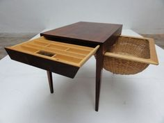 1950s Severin Hansen Jr. Sewing Table