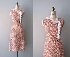 1930s dress / vintage 30s dress / ShillyShally dress by DearGolden, $138.00