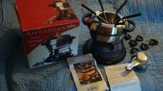 16 pc Meat Fondue Set -- Click affiliate link Amazon.com on image for more details.
