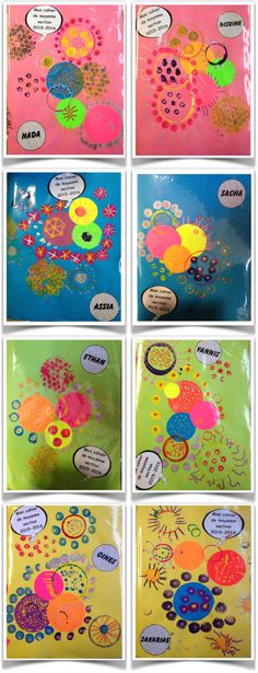 Couvertures de cahiers 2 MATHEMATIC HISTORY Mathematics is among the oldest sciences in human history. Polka Dot Art, Art In The Park, Dot Day, Kindergarten Art Projects, Collaborative Art, Zentangle Patterns, Dot Painting, Old Art, Art Plastique