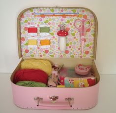 mousehouse: A Mousehouse Kids Crafty Suitcase Tutorial and Giveaway