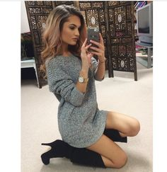 Love sweater dresses