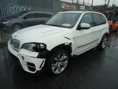 Salvage 2012 BMW X5 XDRIVE 5.0 for sale  THIS IS A SALVAGE REPAIRABLE VEHICLE WITH RIGHT SIDE REAR AND LEFT SIDE FRONT END COLLISION DAMAGE . 5.0L XDRIVE , RUNS AND DRIVES. , FULLY LOADED. .For more information and immediate assistance, please call +1-718-991-8888