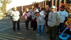 VOX acude a la concentración en la desalinizadora en apoyo a los regantes del Tajo Segura
