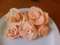 rose di pasta marshmellow.