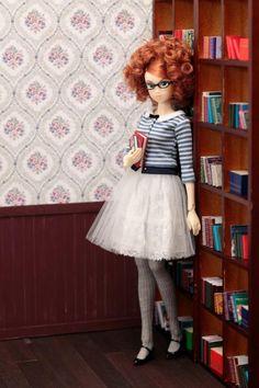 Librarian Barbie doll.