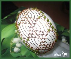 - fotoalba uživatelů - Dáma.cz Wire Wrapped Jewelry, Wire Jewelry, Egg Designs, Egg Art, Egg Decorating, Wire Art, Chainmaille, Stone Art, Easter Eggs