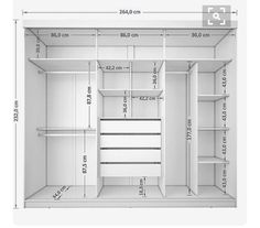 Walk In Robe Dimensions Closet Designs