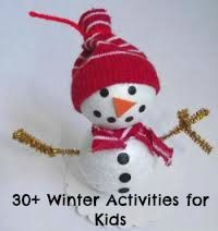 30+ winter activities, projects and crafts for kids