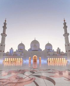 Sheik Zayed Grand Mosque - Abu Dhabi ❤️❤️❤️ Pic by . for a feature ❤️ Mecca Wallpaper, Islamic Wallpaper, Beautiful Mosques, Beautiful Buildings, Mosque Architecture, Architecture Design, Gothic Architecture, Ancient Architecture, Historical Architecture
