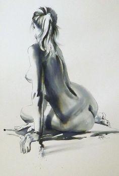 Изящество и грация женской фигуры в картинах Паулины Адайр (Pauline Adair). | ART-кафе | Яндекс Дзен